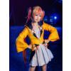 Black Bullet Anime Aihara Enju Cosplay Costume Suit