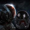 GRP Mask Game Mass Effect Cosplay Mask Glass Fiber Reinforced Plastics Mask