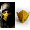 GRP Mask Game Mortal Kombat Cosplay Mask Scorpion Mask Glass Fiber Reinforced Plastics Mask