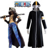 One Piece Seven Warlords of the Sea Trafalgar Law Overcoat Cosplay Costume