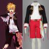 Vocaloid Family Sandplay Kagamine Len Cosplay Costume