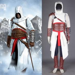 Assassin's Creed I Altair Ibn-La'Ahad Cosplay Costume
