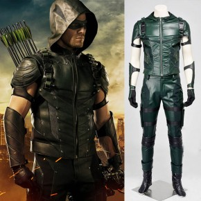 Green Arrow Season 4 Oliver Queen Cosplay Costume Hoodie