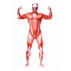 Shingeki no Kyojin Attack on Titan Colossal Titan Full Body Spandex Lycra Cosplay Zentai
