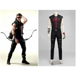 Avengers Age of Ultron Eagle Eye Hawkeye Cosplay Costume