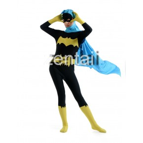 Batman Full Body Spandex Lycra Zentai (Black and Yellow color)