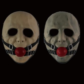 Game Payday 2 Gagball Cosplay Mask Resin Mask