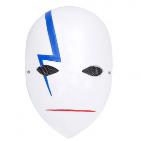 GRP Mask Anime Darker Than Black Mask BK-201 Cosplay Mask Glass Fiber Reinforced Plastics Mask