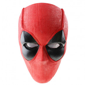 GRP Mask Anime Deadpool Mask Deadpool Cosplay Mask Glass Fiber Reinforced Plastics Mask