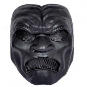 GRP Mask Game League of Legends Cosplay Mask Pantheon Horror Mask Glass Fiber Reinforced Plastics Mask