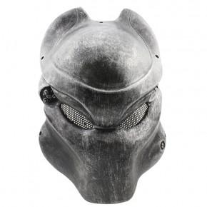GRP Mask Movie Alien VS Predator Horror Mask Predator Cosplay Mask Glass Fiber Reinforced Plastics Mask