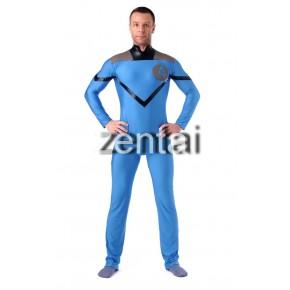 Halloween Super Hero Fantastic Four Full Body Spandex Lycra Zentai Suit