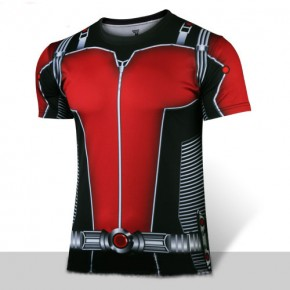 Marvel Ant-Man Cosplay T-shirt for Man with Coolon Material