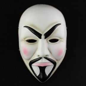 Payday 2 Horror Mask Anonymous Cosplay Mask