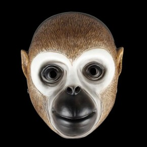 Payday 2 Mask Monkey Cosplay Mask Halloween Horror Mask