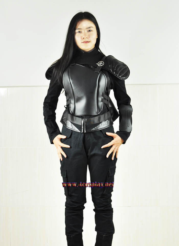 2015 Hunger Games 3 Katniss Everdeen Cosplay Costume Outfit Suit