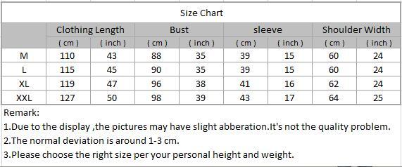AOT012 size chart