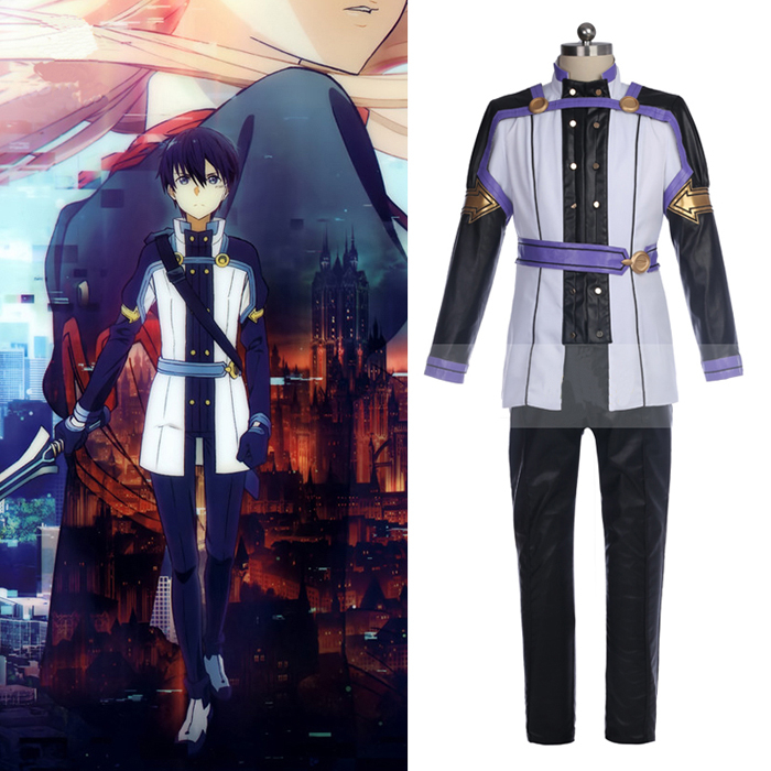 Anime Sword Art Online Cosplay Costume Kirigaya Kazuto Costume