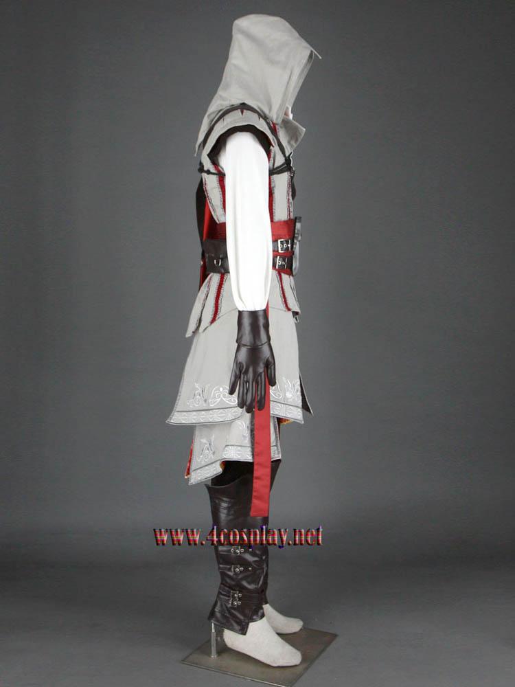 Assassin's Creed II 2 Ezio Auditore Da Firenze Cosplay Costume Outfit