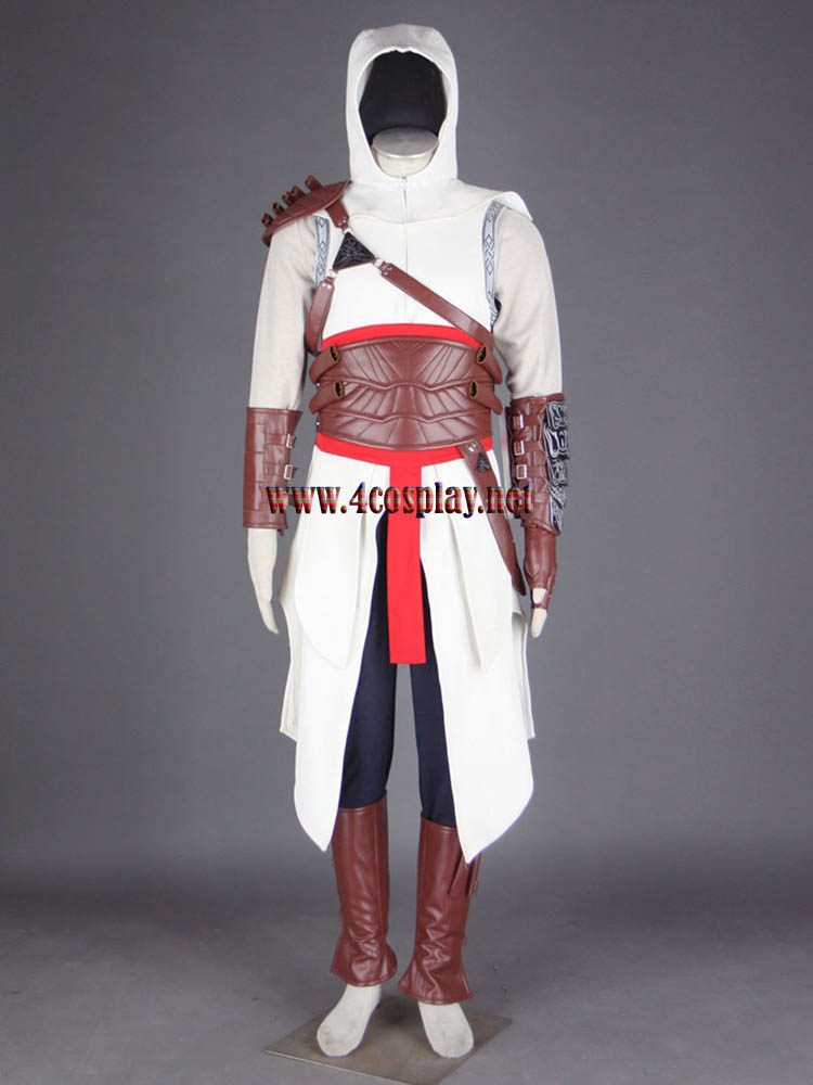 Assassin's Creed I Altair Ibn-La'Ahad Cosplay Costume