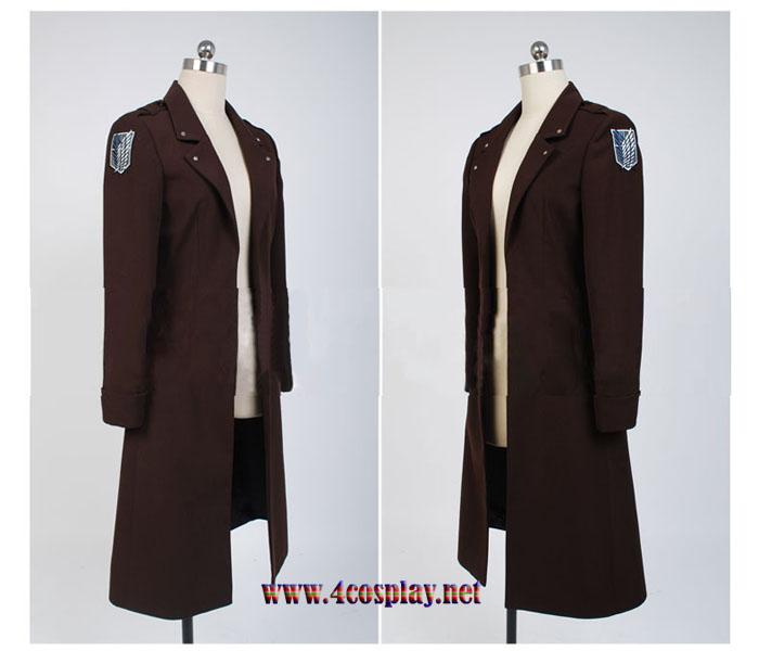 Attack on Titan Levi Ackerman Cloak Scouting Legion Cosplay Cloak