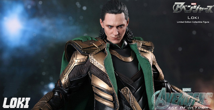 Avengers Age of Ultron Cosplay Costume Loki Costume