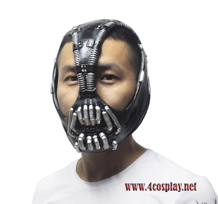 The Dark Knight Batman Movie Bane Mask Cosplay for Halloween And Masquerade