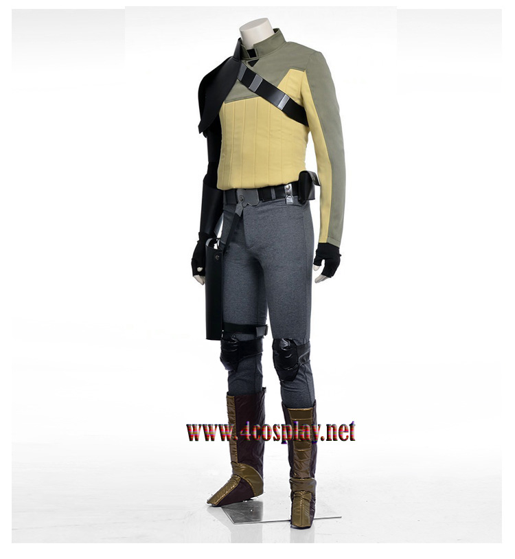 Disney Anime Star Wars Rebels Kanan Jarrus Cosplay Costume