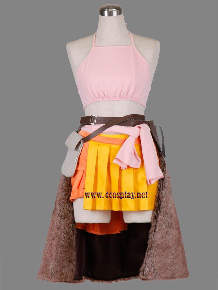 Final Fantasy XIII FF13 Oerba Dia Vanille Cosplay Costume