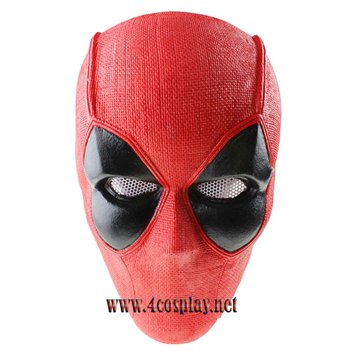 GRP Mask Anime Deadpool Mask Deadpool Cosplay Mask Glass Fiber Reinforced Plastics Mask