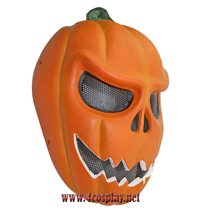 GRP Mask CS Protective Mask Pumpkin Mask Glass Fiber Reinforced Plastics Mask