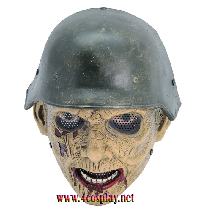 GRP Mask CS Protective Mask World War II Zombie Mask Glass Fiber Reinforced Plastics Mask