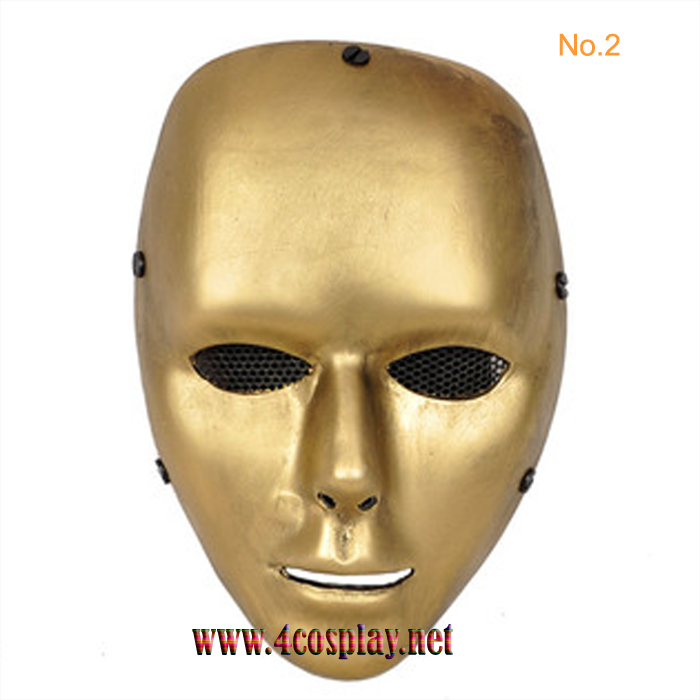 GRP Mask Dance MelbourneShuffle Cosplay Mask CS Mask Glass Fiber Reinforced Plastics Mask
