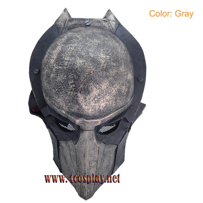 GRP Mask Movie Alien VS Predator Horror Mask Eagle Face Cosplay Mask Glass Fiber Reinforced Plastics Mask