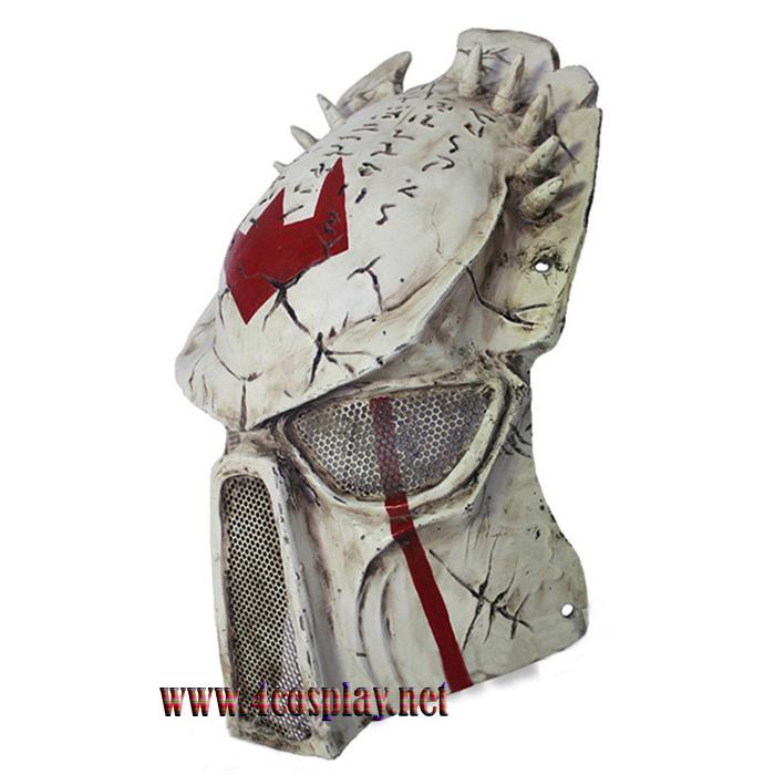 GRP Mask Movie Alien VS Predator Horror Mask Predator Warrior Cosplay Mask Glass Fiber Reinforced Plastics Mask