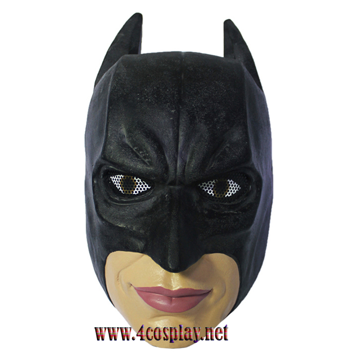 GRP Mask Movie Batman Dark Knight Cosplay Mask Batman Mask Glass Fiber Reinforced Plastics Mask