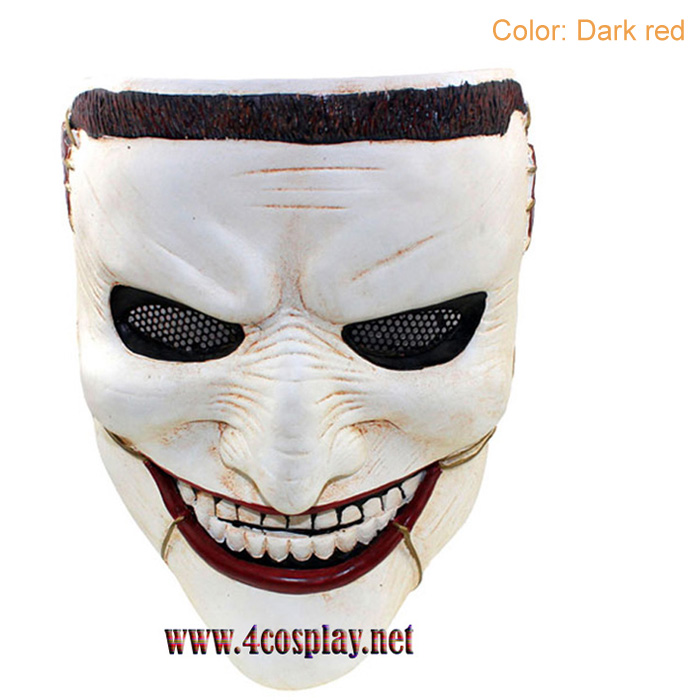 GRP Mask Movie Death Family Horror Mask Villain Mask Glass Fiber Reinforced Plastics Mask