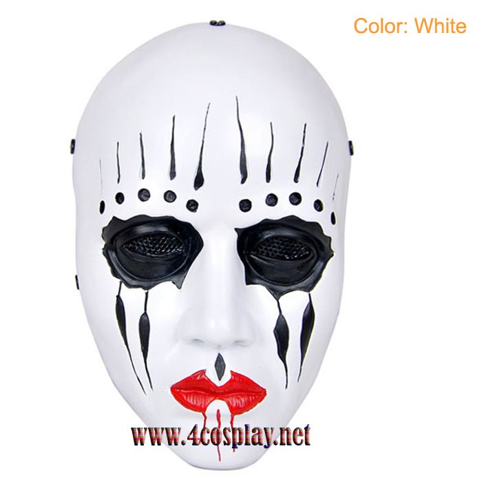 GRP Mask Movie Slipknot Horror Mask Joey Jordison The Drummer Cosplay Mask Glass Fiber Reinforced Plastics Mask