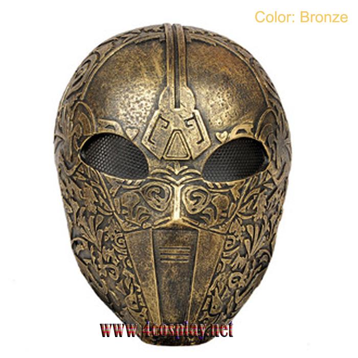 GRP Mask Movie The Machine Mask The Machine Cosplay Mask CS Mask Glass Fiber Reinforced Plastics Mask