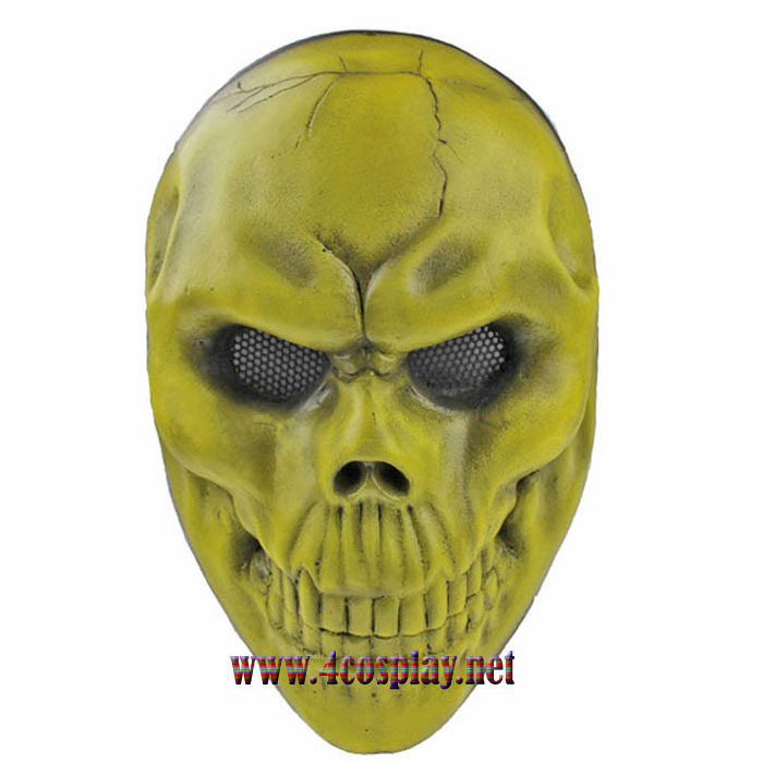 Payday 2 Horror Mask Skull Cosplay Mask Glass Fiber Reinforced Plastics Mask