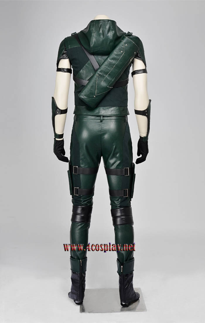 Green Arrow Season 4 Oliver Queen Cosplay Hoodie