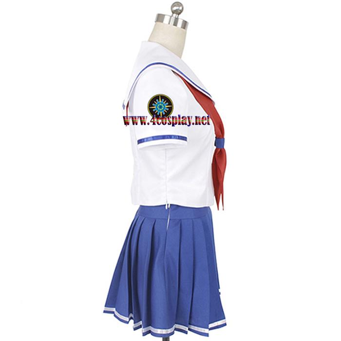 High School Fleet Cosplay Costume ミケちゃん Misaki Akeno Costume School Uniforms