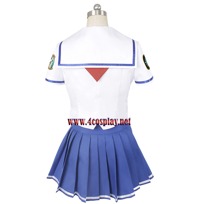 High School Fleet Cosplay Costume ミケちゃん Misaki Akeno Costume School Uniforms
