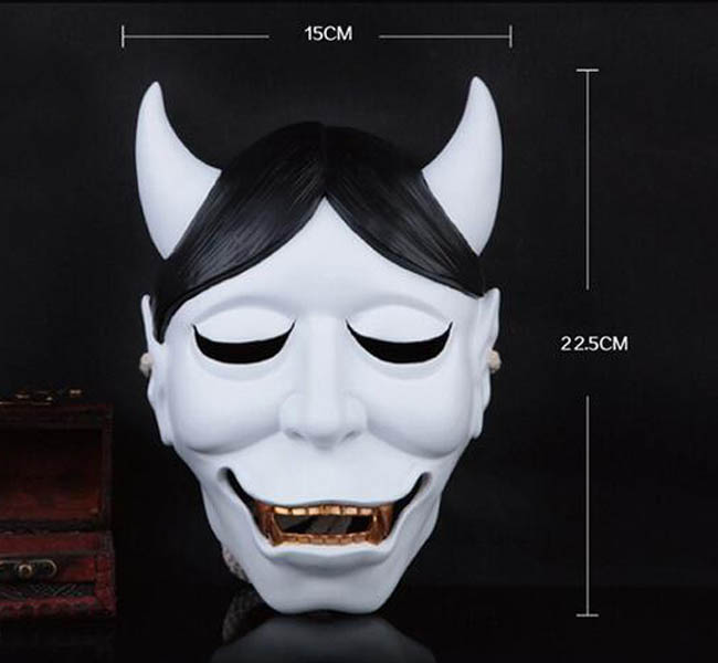 Secret Service SS Shirakiin Riricho Ghost Fox Mask