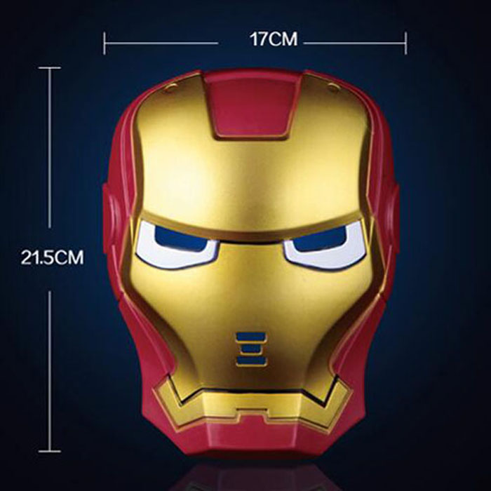 Iron Man Glowing Mask