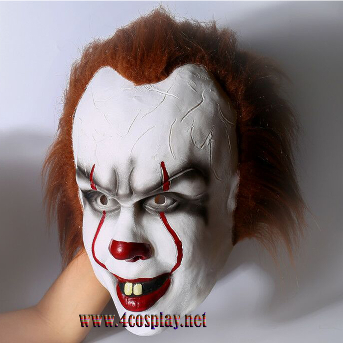 Movie It Mask Pennywise Cosplay Mask Halloween Mask