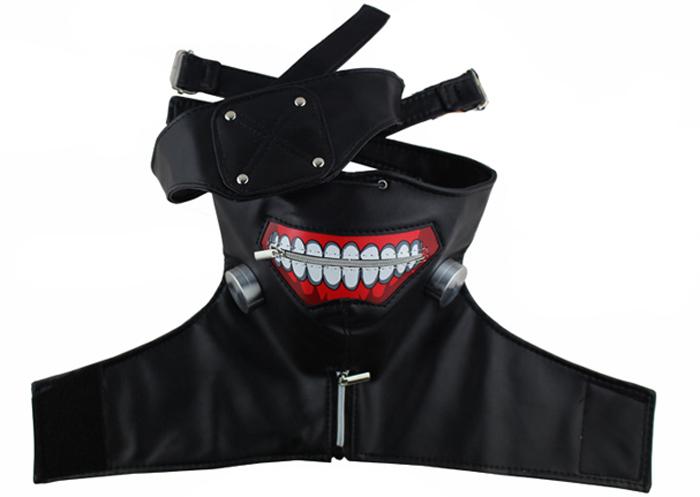 Kaneki Ken Full Face Mask Tokyo Ghoul Cosplay Mask