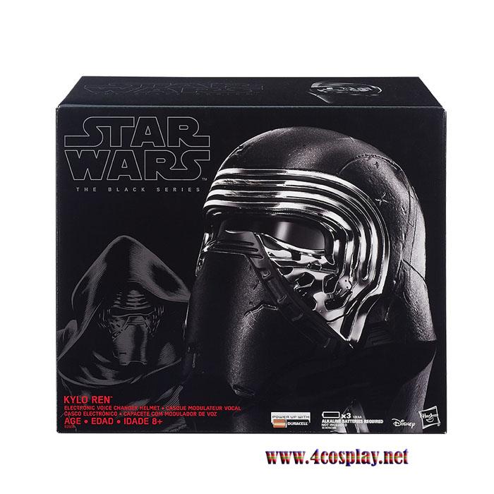 Kylo Ren Electronic Voice Changer Helmet for Star Wars 7 The Force Awakens Helmet