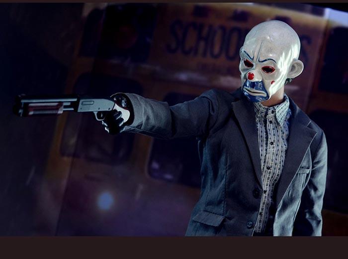 Batman Dark Knight Cosplay Bank Robber Mask