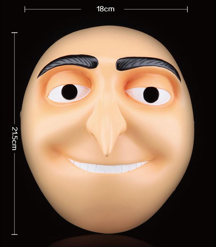 Movie Despicable Me Dad Gru Mask